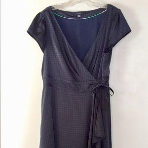 Blue TH wrap dress